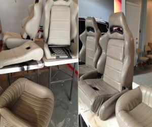 color match change seat car auto dye_